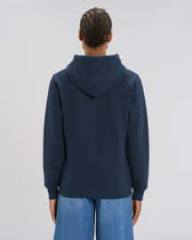 Hooded sweater Navy