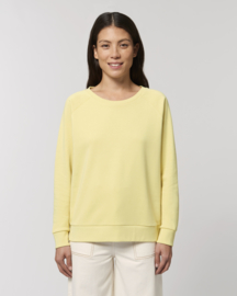 Yellow mist sweater for her