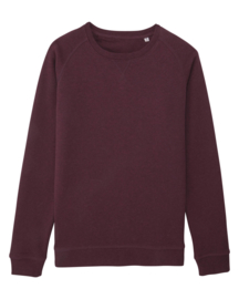 Heather Grape Red sweater for her