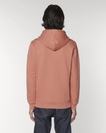Hooded sweater Rose Clay