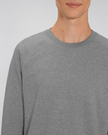 Mid heather grey capsule sweater for him