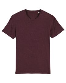 Heather grape red t-shirt