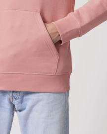Hooded sweater Canyon pink