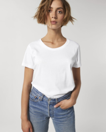 White t-shirt for her