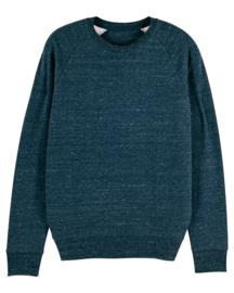Dark Heather Denim sweater for him