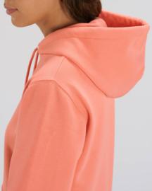 Hooded sweater Sunset Orange