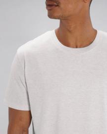 Cream heather grey t-shirt