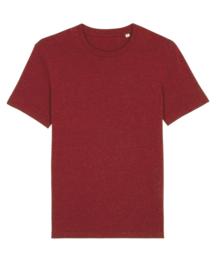 Heather neppy burgundy capsule t-shirt