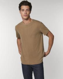 Vintage dyed t-shirt Caramel