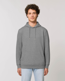 Hooded sweater Mid Heather Grey