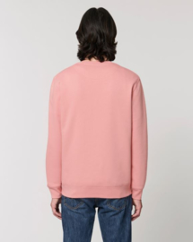 Canyon Pink Uniseks Sweater met ronde hals