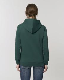 Hooded sweater Mountain Green