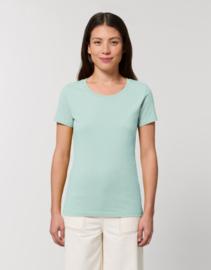 Caribbean Blue t-shirt for her