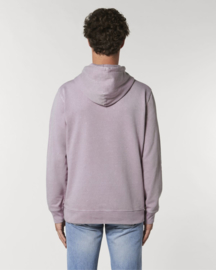 Hooded sweater Vintage Dyed Lilac