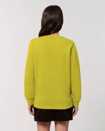 Hay Yellow Uniseks Sweater met ronde hals