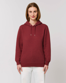 Hooded sweater Heather Neppy Burgundy