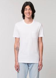 White  T-SHIRT MET ZAK