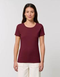 Burgundy t-shirt for her