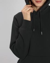 Hooded capsule sweater Black
