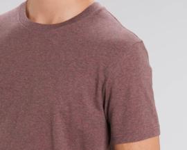 Heather cranberry t-shirt