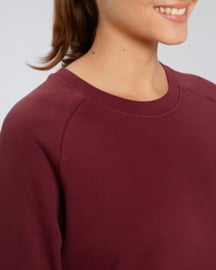 Burgundy capsule sweater for her
