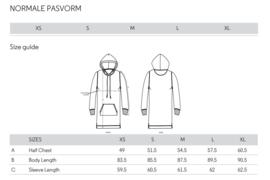 Gepersonaliseerde sweaterdress met kap