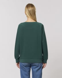 Mountain green sweater for her