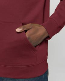 Hooded sweater Burgundy