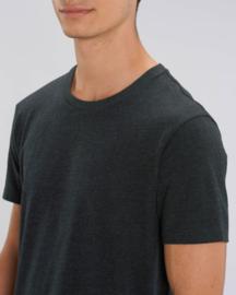 Black Heather Denim t-shirt