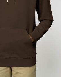 Hooded sweater Deep Chocolate