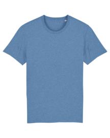 Mid heather blue t-shirt