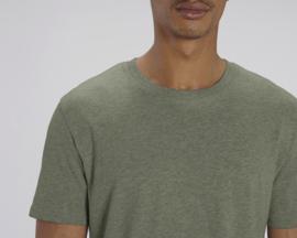 Mid Heather Khaki t-shirt