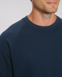 French navy capsule sweater for him