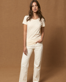 Natural Raw t-shirt for her