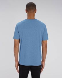 Mid heather blue capsule t-shirt