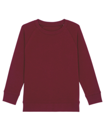 Burgundy sweater for the little one