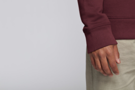 Burgundy sweater for him