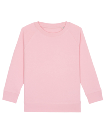 Cotton pink sweater for the little one
