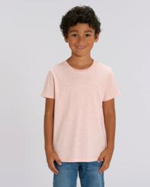 Cream Heather Pink capsule t-shirt