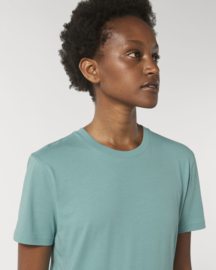 Teal Monstera t-shirt for her