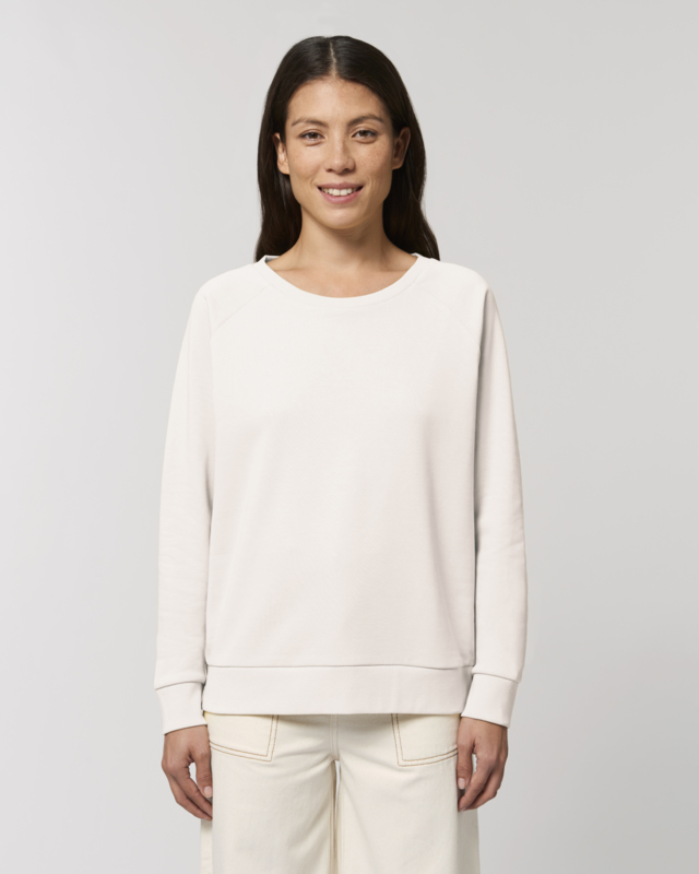 Vintage white  sweater for her