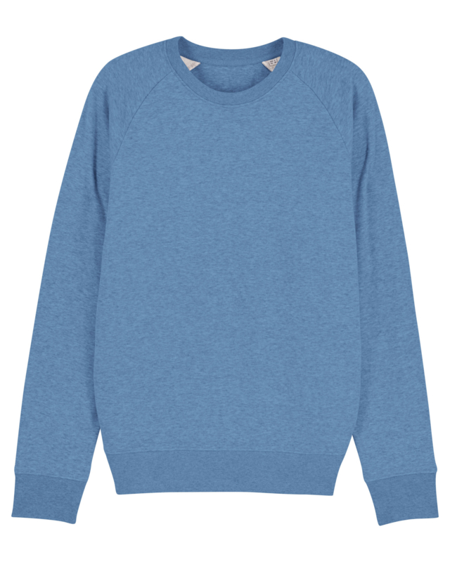 Mid heather blue sweater for him