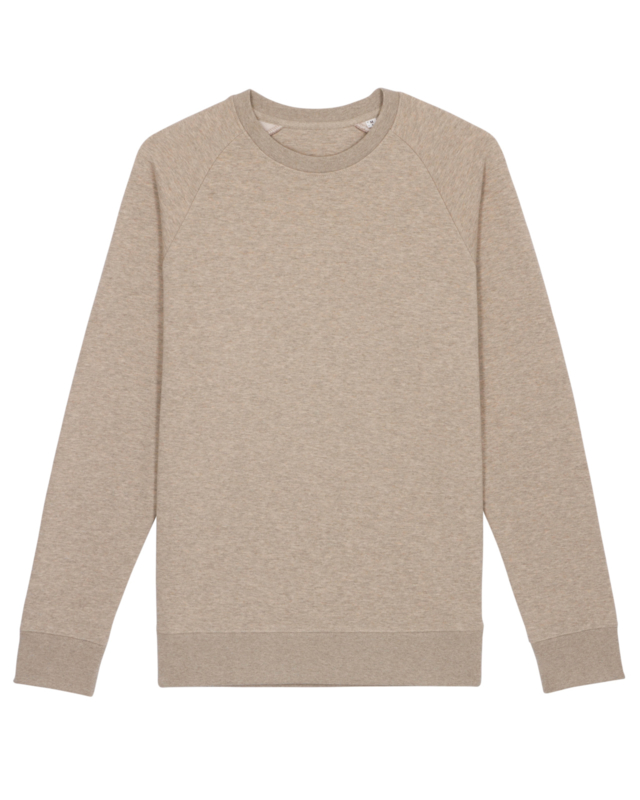 Heather Sand sweater for him
