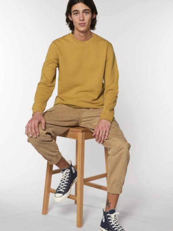 Ochre Uniseks Sweater met ronde hals
