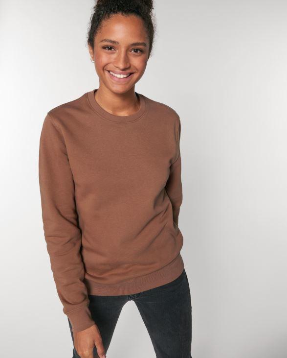 Caramel Uniseks Sweater met ronde hals