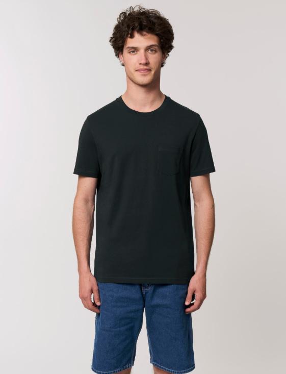 Black T-SHIRT MET ZAK