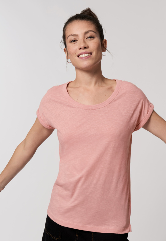 Canyon pink  t-shirt for her