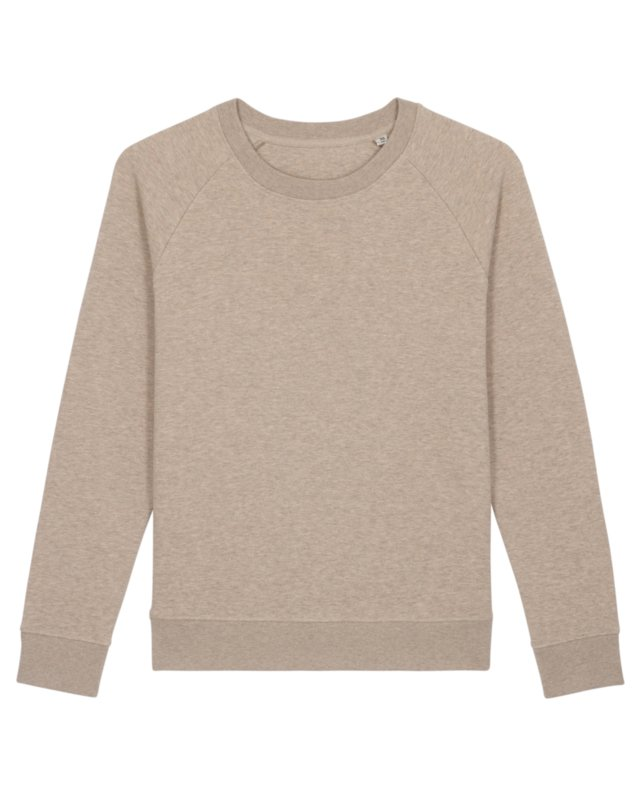 Heather Sand sweater for her