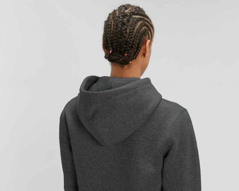 Hooded sweater Dark Heather Grey
