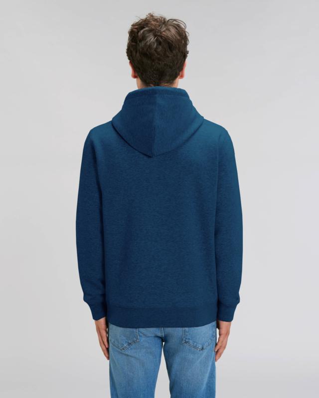 Hooded sweater Black Heather Blue